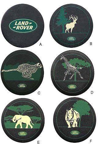 Rover Connection-Land Discovery Freelander Spare Wheel Covers