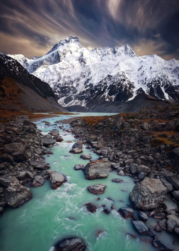 ~~Source of Life | winter landscape of Mount Cook, New Zealand | by Sam Assadi~~