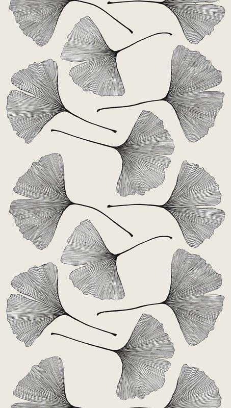 Laila regarde, ce sont des feuilles de Ginko Biloba <3