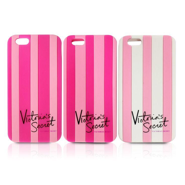 Victoria/'s Secret PINK Soft Silicon Stripe Case Cover for iphone 6 plus 5s 5c 4 | eBay