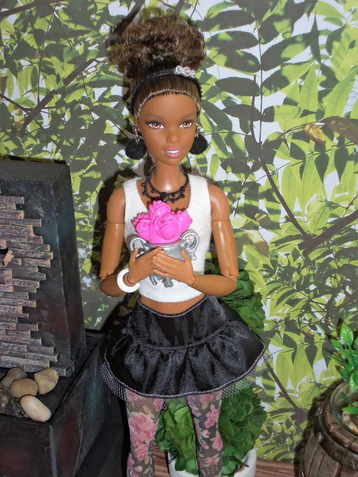 Made to Move Barbie - AA Barbie // Black Barbie // OOAK style by Aneka