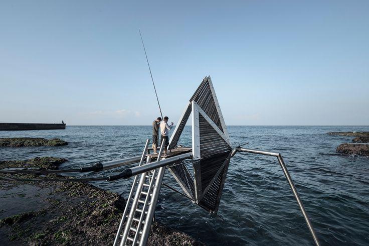IRIS | Najjar & Najjar Architects | Ieva Saudargaite IRIS - a spatial ocean dynamo on Beirut's coastline