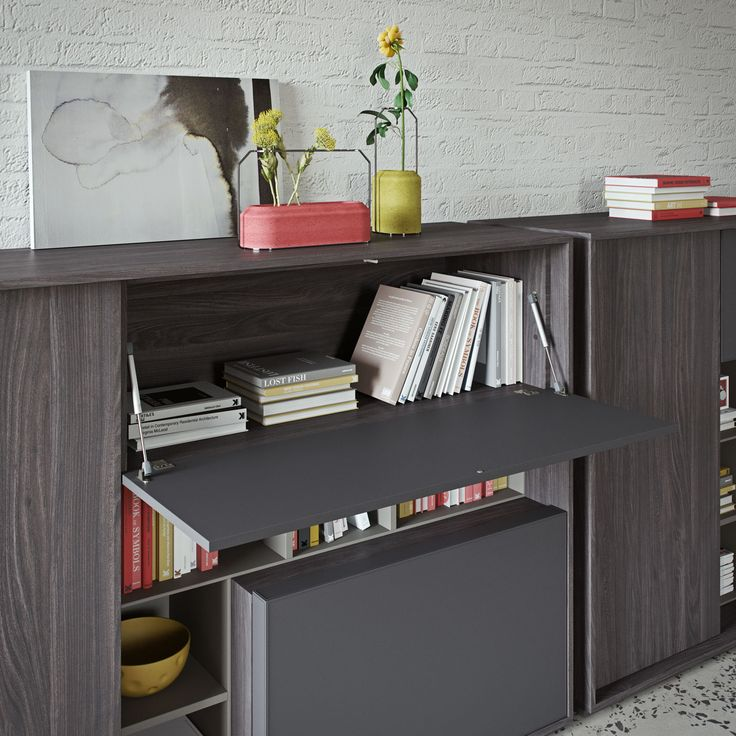 SESSANTA executive office. Medium cabinet detail by Prof Office