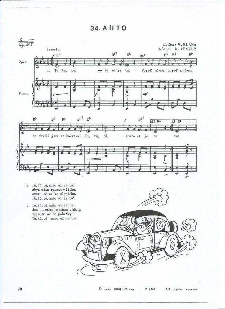Auto píseň