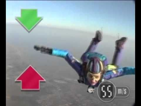 Designing Parachutes Science Resource: GCSE Science Revision - How Forces affect a Skydiver