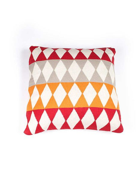 Indus Design Panel Diamond Cushion / Pillow available at Krinkle.com.au