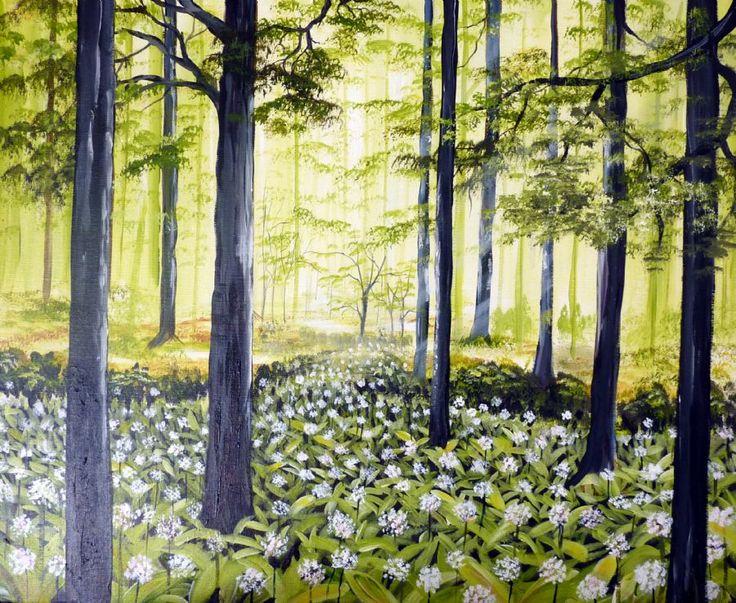 Se Maleriet Forår i galleriet på MyArtSpace.dk