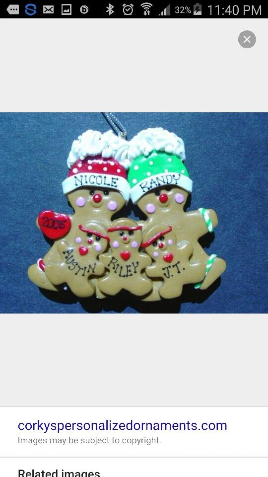 Ginger bread family