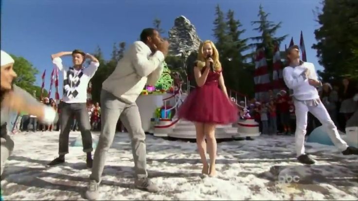 "Dove Cameron performs ""Let It Snow"" on ABC Family Christmas - YouTube"