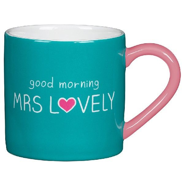 Mrs Lovely Mug - Happy Jackson