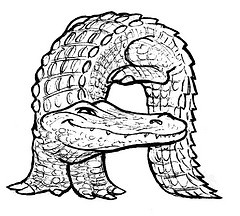 free use animal alphabet colouring pages