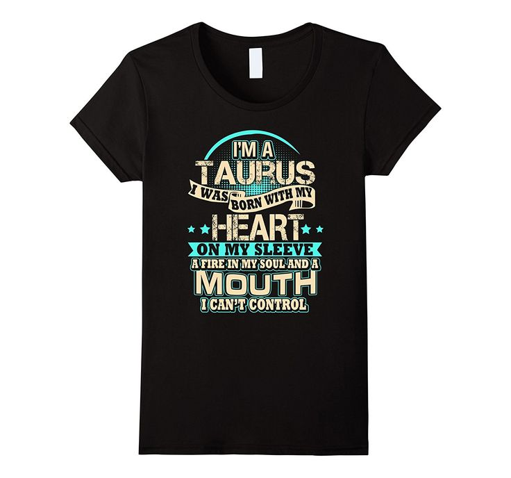 A fire in Taurus Soul - Funny Birthday Horoscope T shirts