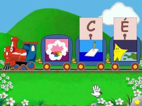 Lapin Malin Maternelle 1 (Reader Rabbit Toddler): Partie 3 - Train de L'Alphabet - YouTube