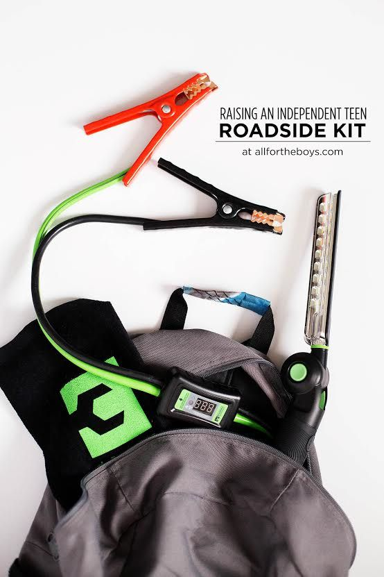 Roadside safety is especially important for new teenage drivers, and these Smart Cables from MYCHANIC look like the perfect way to help kids navigate car trouble. @mychanic AD http://allfortheboys.com/home/2017/05/31/raising-independent-teen-roadside-kit.html