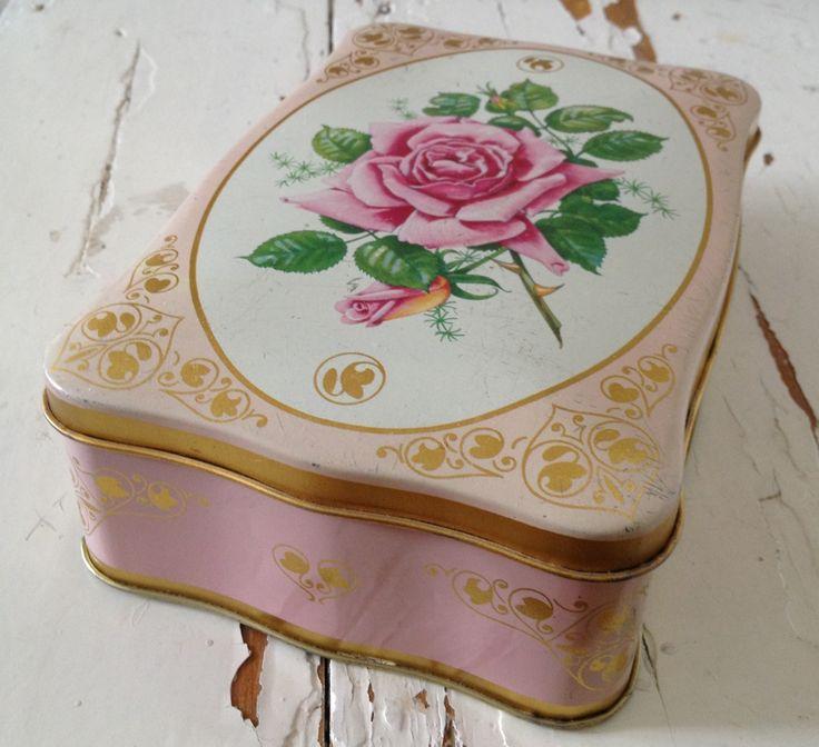 Peltipurkki - My Vintage Tin <3