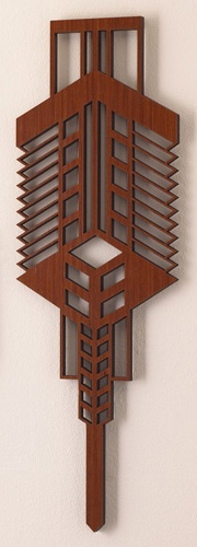 93 best images about laser cut challenge on pinterest for Frank lloyd wright craftsman style