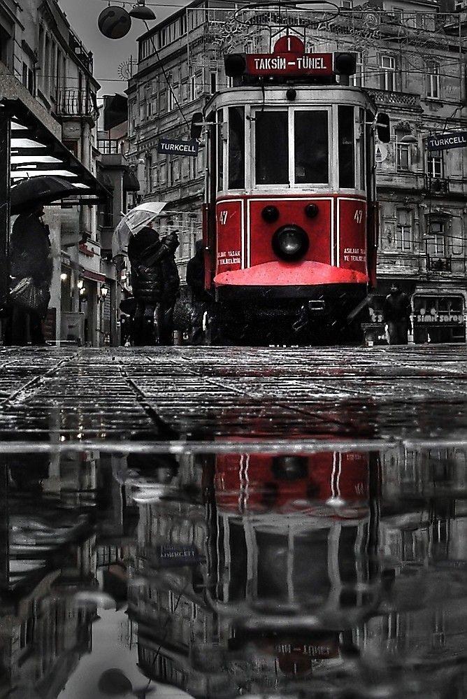 Taksim Tram . Istanbul