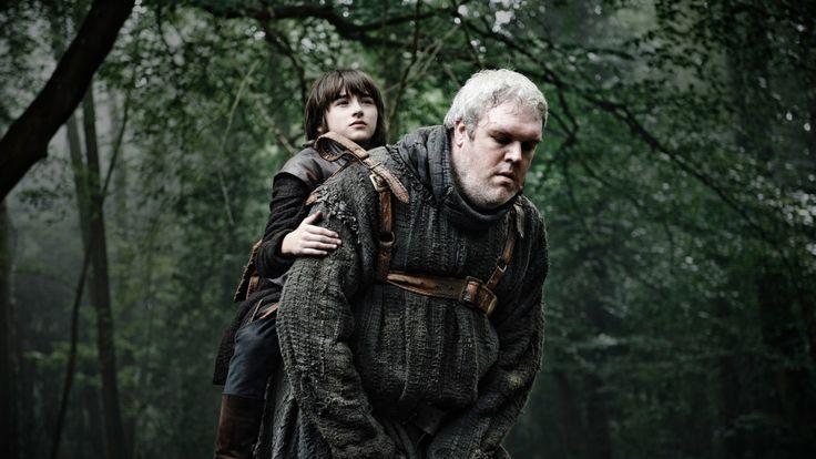 Bran Stark & Hodor - game-of-thrones Photo