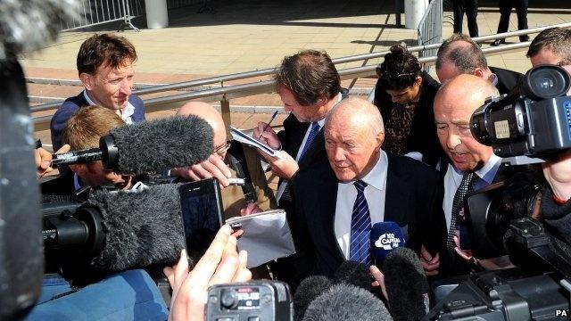 2 May. BBC Broadcaster Stuart Hall admits indecent assaults