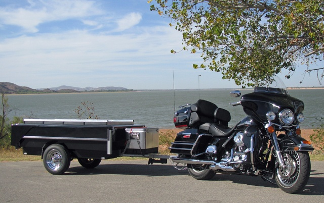Roll A Home Motorcycle Tent Trailer This Would Make Long