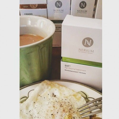 Start your morning right and bright with Nerium's EHT Age-Defying Supplement! http://nerium.io/t8k