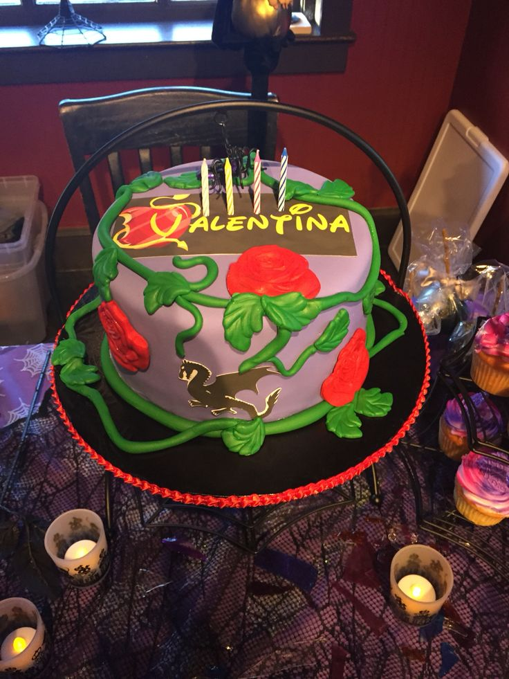 Disney Descendants Cake Walmart