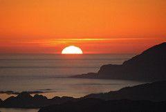 Sunset, Ulsteinvik, Norway