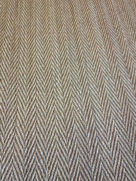 Herringbone carpet for stair runner