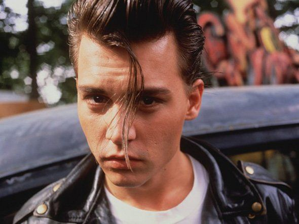 Depp's pout in Cry Baby. strike that. in all of his movies.