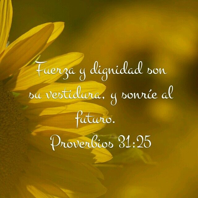 Proverbios 31:25