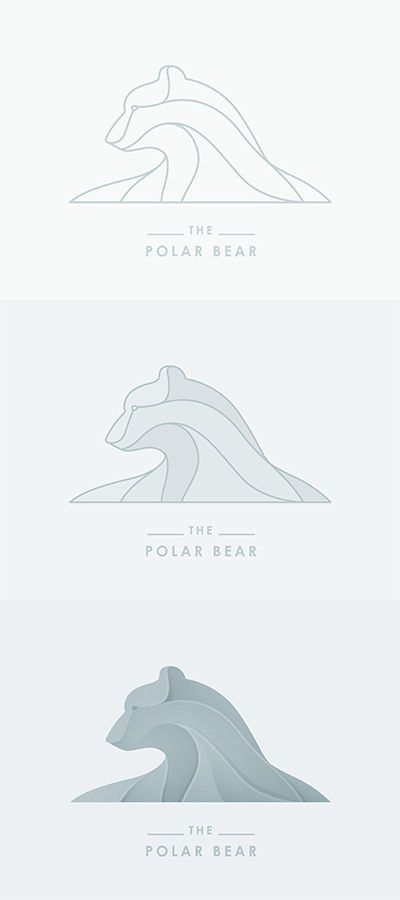 The Polar Bear | #corporate #branding #creative #logo #personalized #identity…