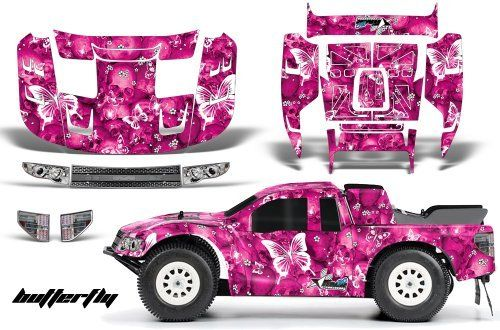 Ford F150 SVT Raptor-FLO-TEK-Decal Kit Fits:Traxxas Slash,Slash 4x4,SC10,Ultima SC & Blitz-(PRO-3366-00)-AMRRACING-RC Graphics Kit-Pink-Skulls & Butterfly by AMRRACING. $39.95. AMR Racing RC kits are made from Thick Motocross quality vinyl. Listing includes graphics kitonly, body not included.. Graphics kit it new in sealed manufactures packing.. 98% Body coverage-Need Base coat of Paint. AMR RC Kits very Easy to install.. AMR Racing RC kits are made from Thick Motocross ...