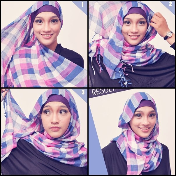 Tutorial Hijab Pahsmina