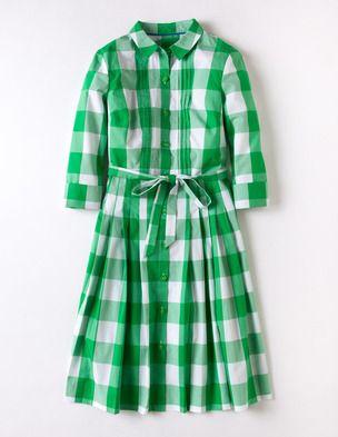 Gingham Shirt DressGrassy Green, Dresses Boden, Gingham Shirts, Clothing, Green Gingham, Boden Gingham, Day Dresses, Shirts Dresses, Dreams Dresses