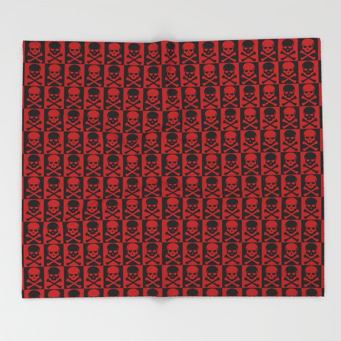 25% Off Everything With Code VDAY25 - Ends Tonight at Midnight PT. Buy Red Skulls Throw Blanket by scardesign.  #sales #sale #discount #dorm #campus #deals #39  #gifts #giftideas #online #shopping #valentinesday #valentinesdaygifts #badass #popular #valentine #society6 #campus #dorm #streetwear #style #home #homedecor #homegifts #cool #awesome #family #giftsforhim #giftsforher #kids #skull #rock #swag #rockstyle #red #skull #blanket #skullsblanket #pattern #livingroom #throwblanket #bedroom