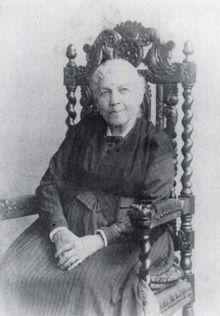 "Harriet Jacobs. Escaped slave, abolitionist, activist and author of one of the first slave narratives: ""Incidents in the Life of a Slave Girl,"" published in 1861."