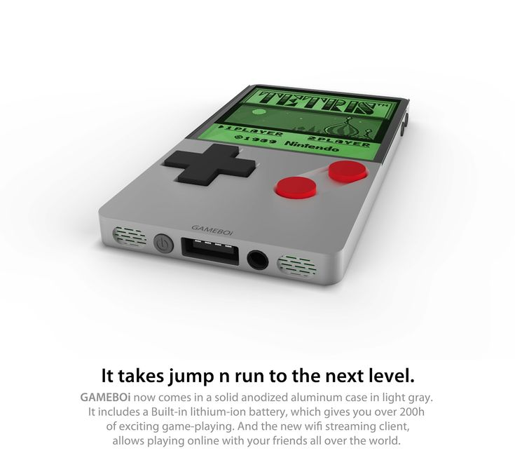 GAMEBOi: Cult Gaming Handheld Gets The iPhone 4 Treatment