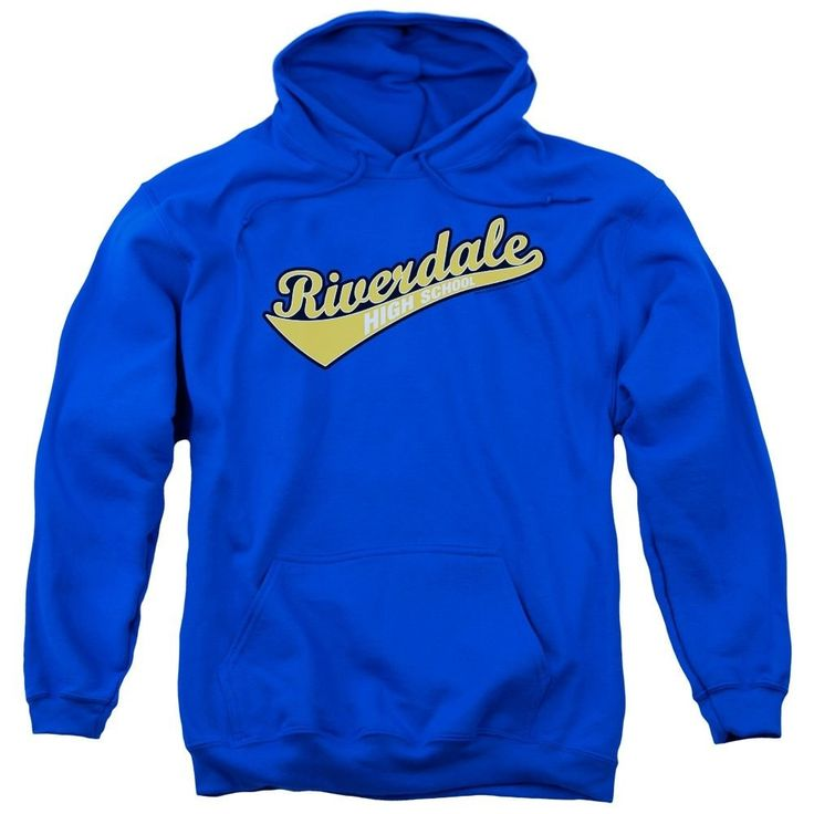 Archie Comics - Riverdale High School Adult Pull-Over Hoodie