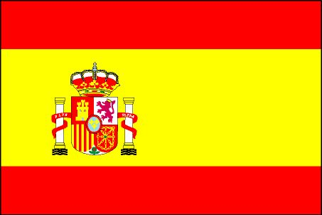Official Spain Flag Clipart