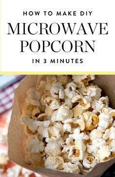Most microwave popco Most microwave popcorneven the natural...  Most microwave popco Most microwave popcorneven the natural stuffcontains trans fats and artificial flavors. Yuck. But we have great news. Its just as quick and easy to make your own.