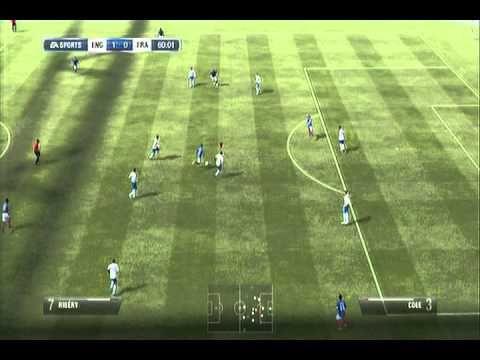 fifa 12 england vs france - YouTube