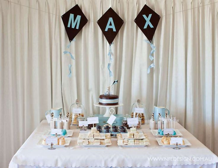 """Vintage Tricycle & Kite / Birthday """"Max's First Birthday"""" 