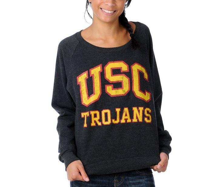 SheKnows Gift Guide: USC Trojans Girls College Football Sweatshirt