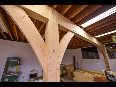 How To Install Huge Beams With Joinery The Samurai