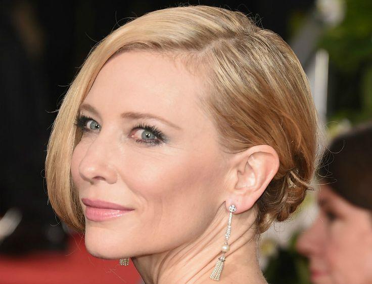 Zó maak je de perfecte 'niet gestylde knot' à la miss Blanchett