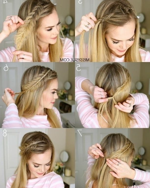 20 Easy Ponytail Hairstyles For Medium Length Hair You Can Create These 20 Easy Ponytail Hairstyles Medium Length Hair Styles Hair Styles Ponytail Hairstyles