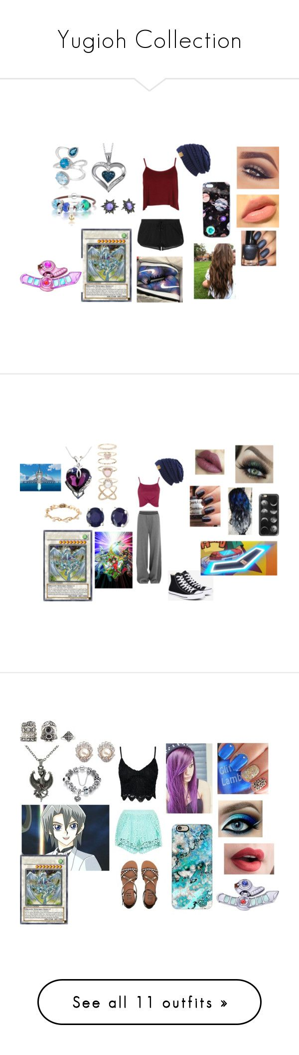 """""""Yugioh Collection"""" by ocean-goddess ❤ liked on Polyvore featuring Effy Jewelry, Boohoo, Mary Kay, Ivy Park, NIKE, Nikki Strange, Bling Jewelry, Rebecca Minkoff, Ÿù and Puma"""