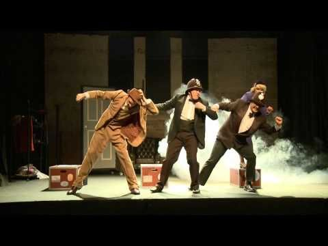 39 Steps at the Genesian In The Spotlight - The Theatre Show - YouTube