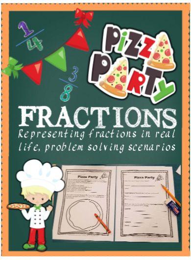 Pizza party, problem solving, real world scenarios.