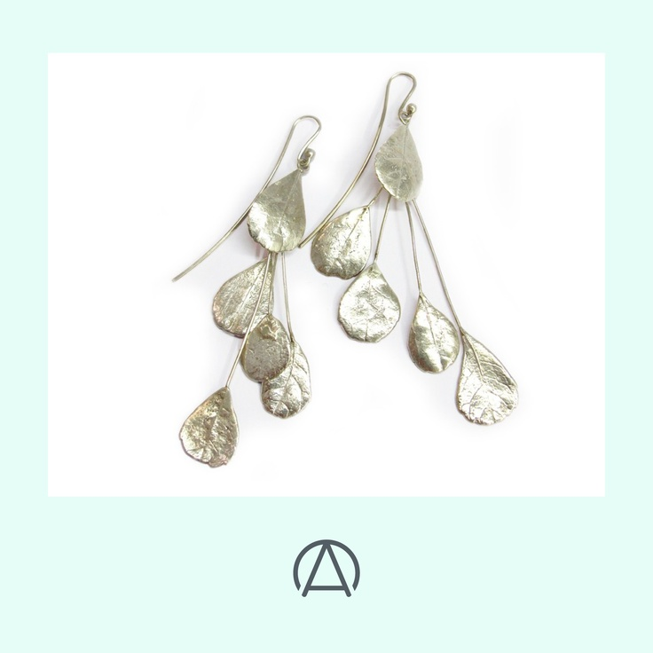 Stunning botanical jewellery from Nic Bladen includes these Dune crowberry earrings. Now available from www.africandy.com